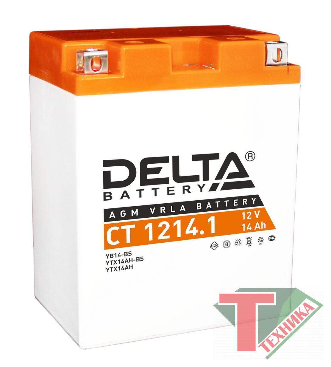 Акб Delta CT1214.1