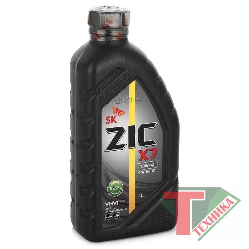 ZIC X7 DIESEL 10W40 (5000) 1L
