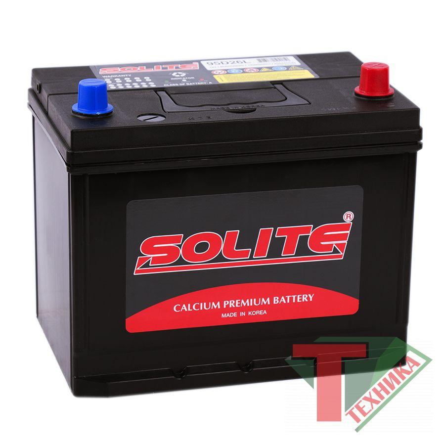 АКБ Solite 85A  95D26L  о.п.