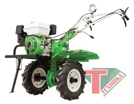 Мотокультиватор OM105-6 HPGAS колеса 4.00*8