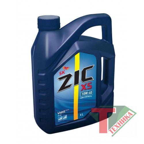 ZIC Х5 SM 10W40 6 л