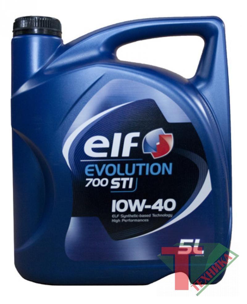 ELF Evolution 700 (Competition) 10W40 5L