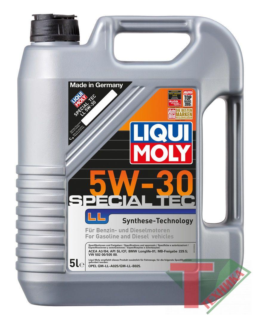 Liqui Moly Special Tec F 5W30 A5-08/B5-08 5л