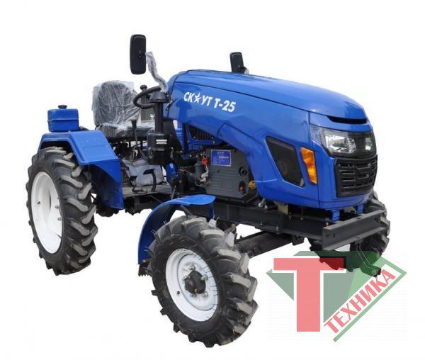 Трактор-мини Скаут Т-25 (с почвофрезой)