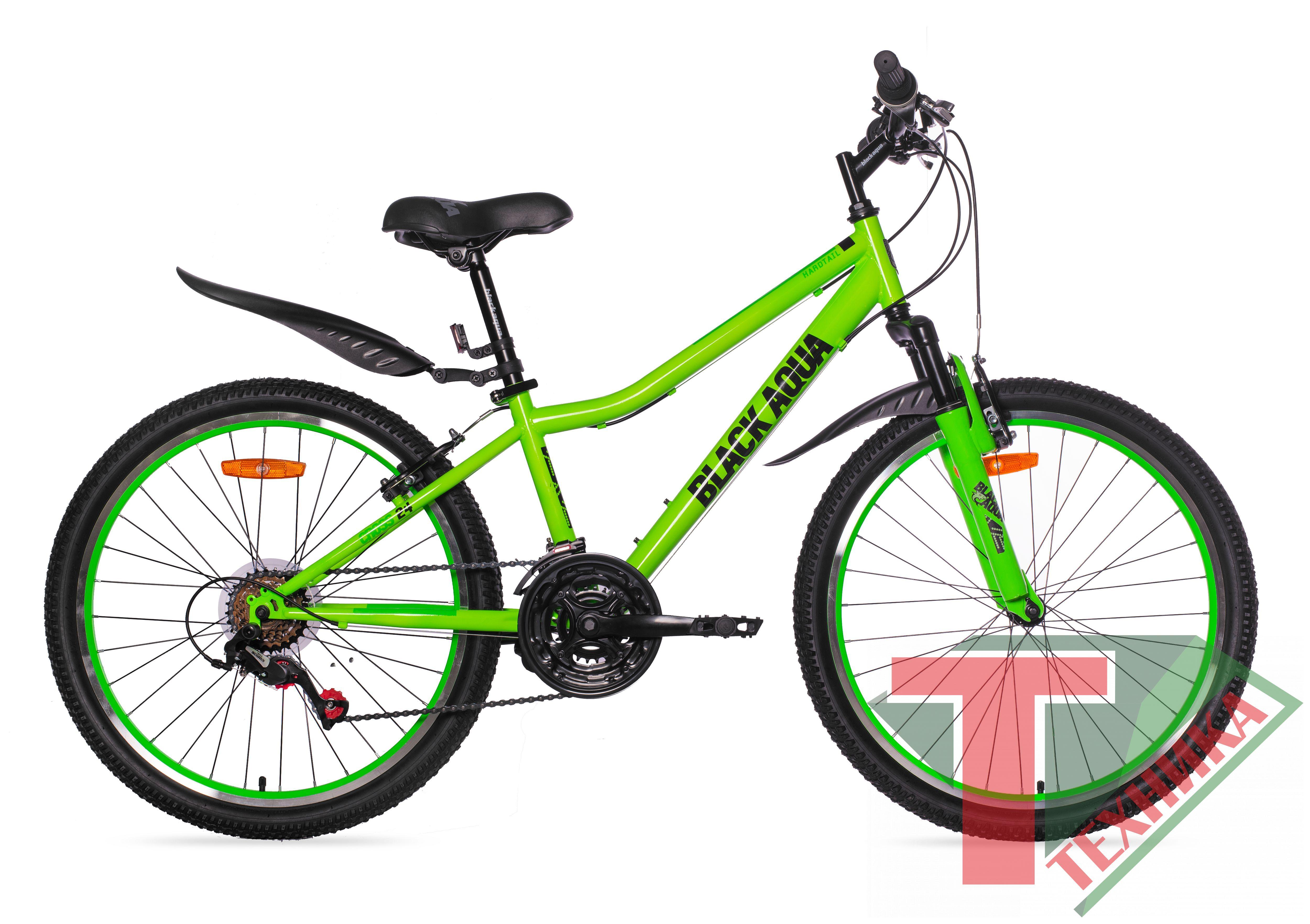 Велосипед GL-202V Black aqua Cross 1431V 24