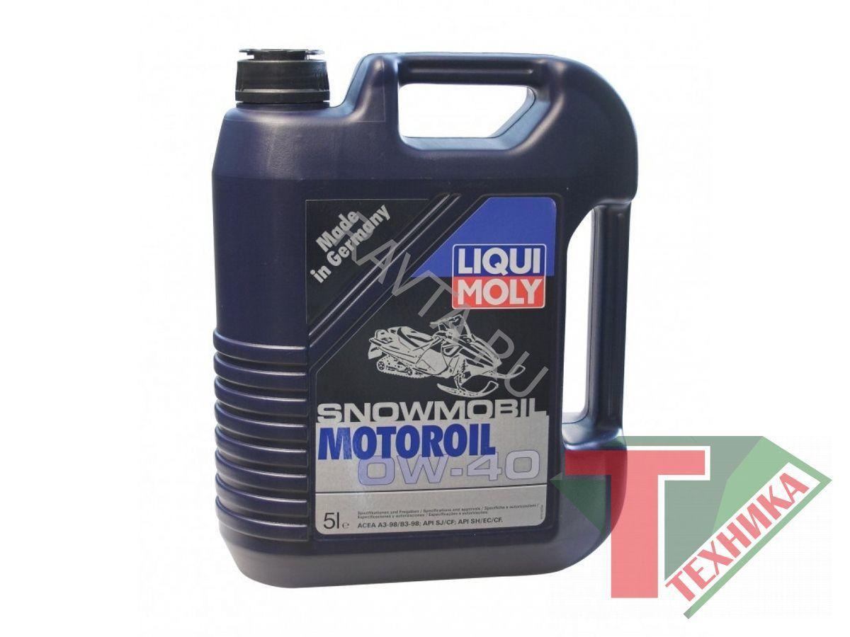 Liqui Moly Snowmobil Motoroil 0w-40 SM/CF A3/B3 4л