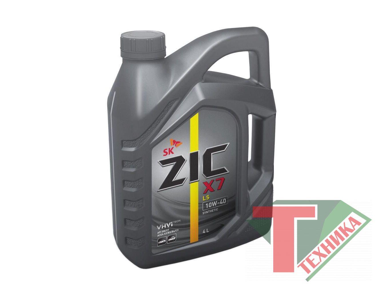 ZIC X7 DIESEL 10W40 (5000) 4L