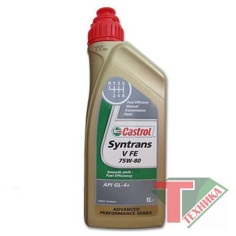 Castrol Syntrans V FE 75w80 1л
