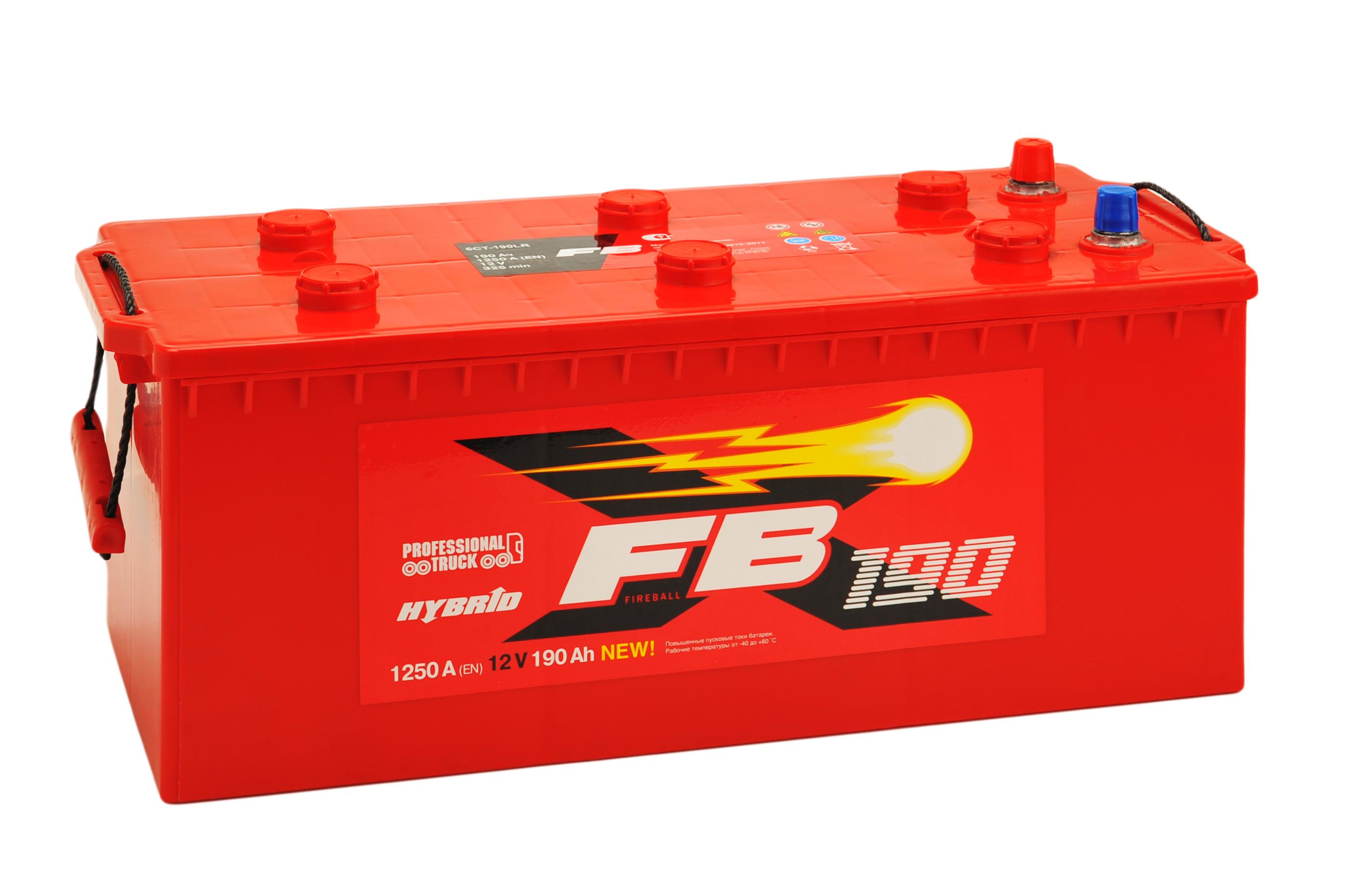 АКБ Fire Ball 190 EN1250