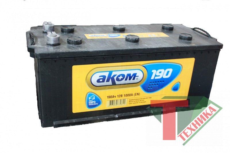 АКБ АКОМ 190 EN1100