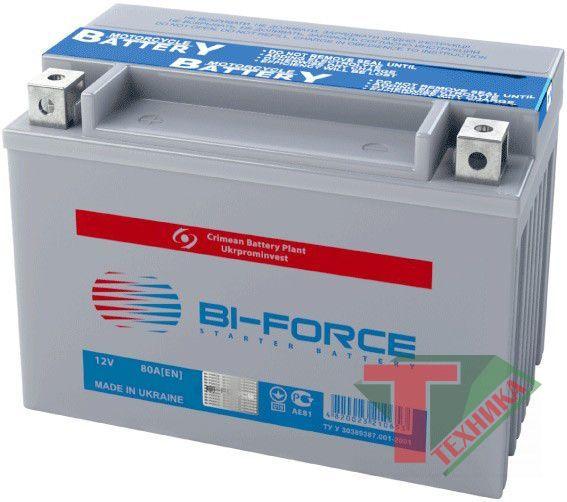 АКБ Bi-Forse 12V7A мото