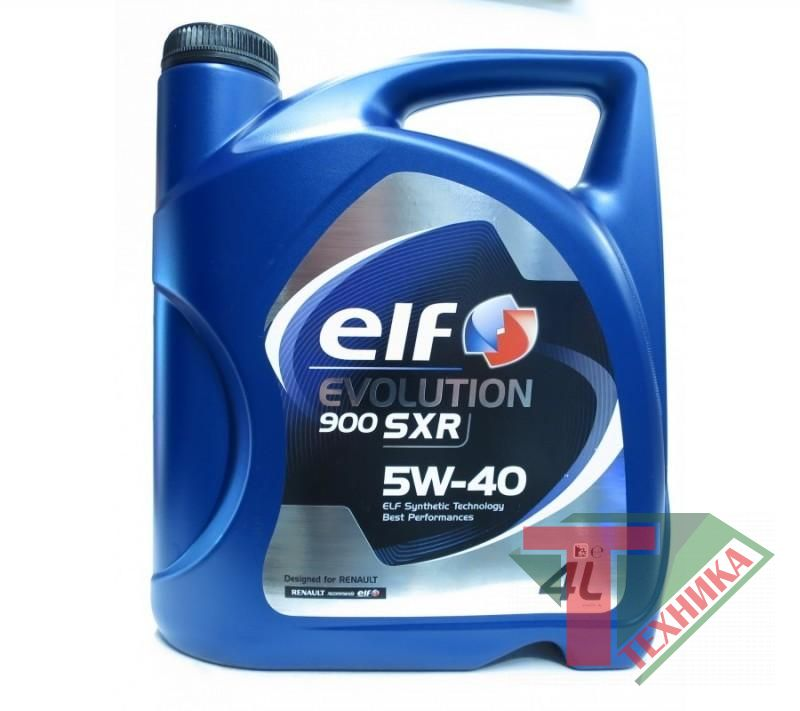 ELF Evolution SXR 5W40 4L