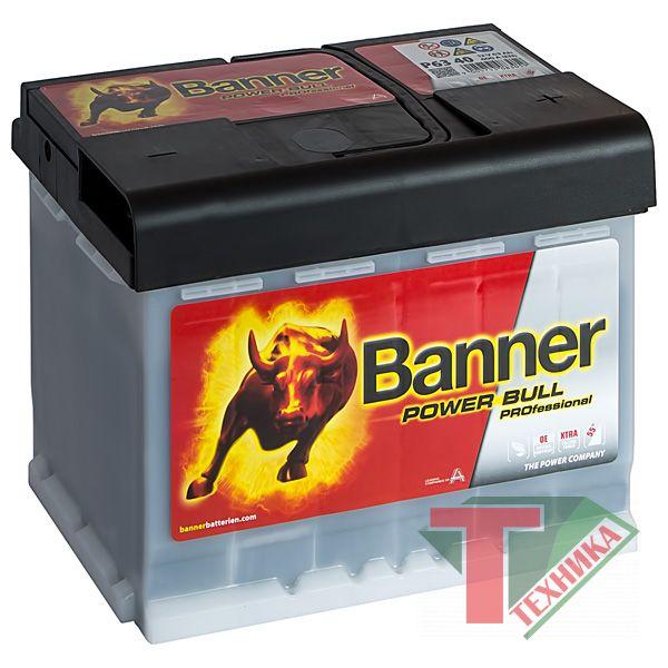 АКБ Banner Power Bull PRO P63 40