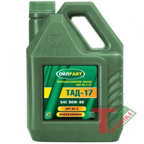 Масло трансм. ТАД-17 OIL RIGHT 3л