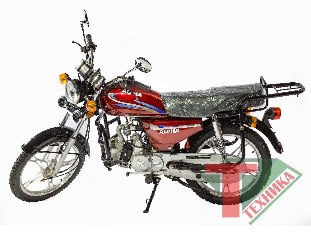 Мопед Alpha 50/110cc