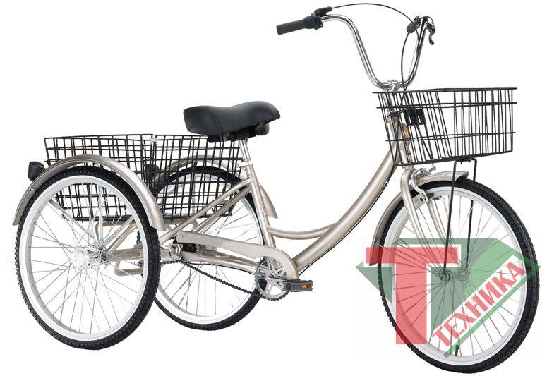 Велосипед Omaks OM-TR04-20-6 24-20 6ск 3-х колесный