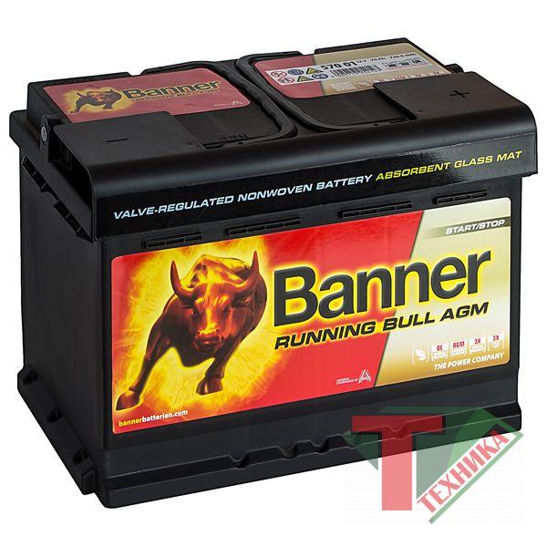АКБ Banner Starting Bull 570 44