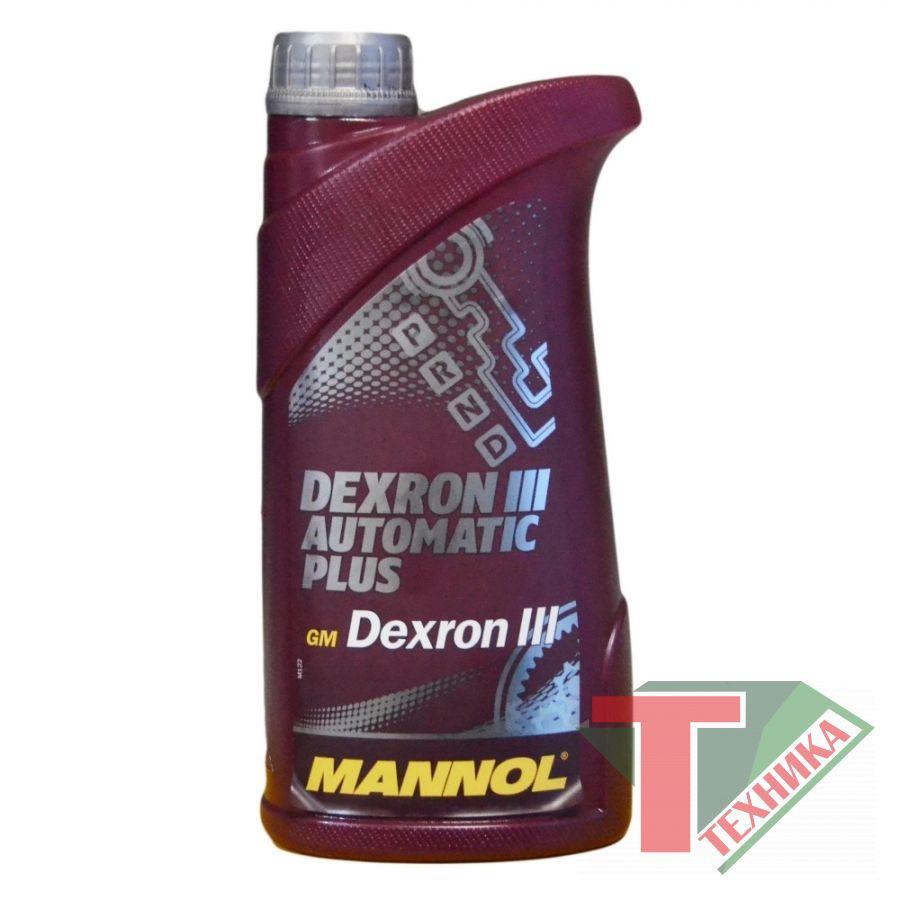 ATF DEX III Mannol 1л