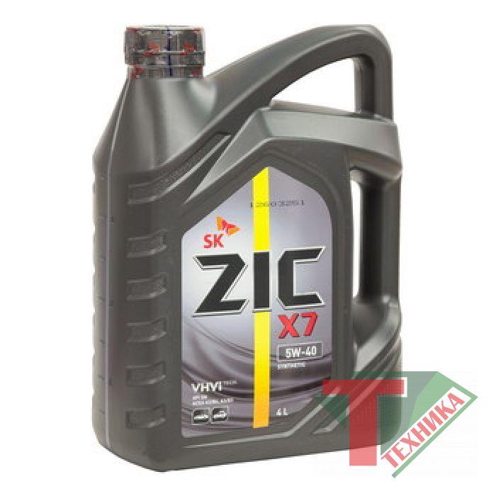 ZIC X7 5W40 4L