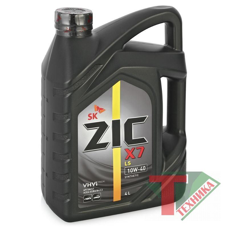 ZIC X7 LS 10W40 4L