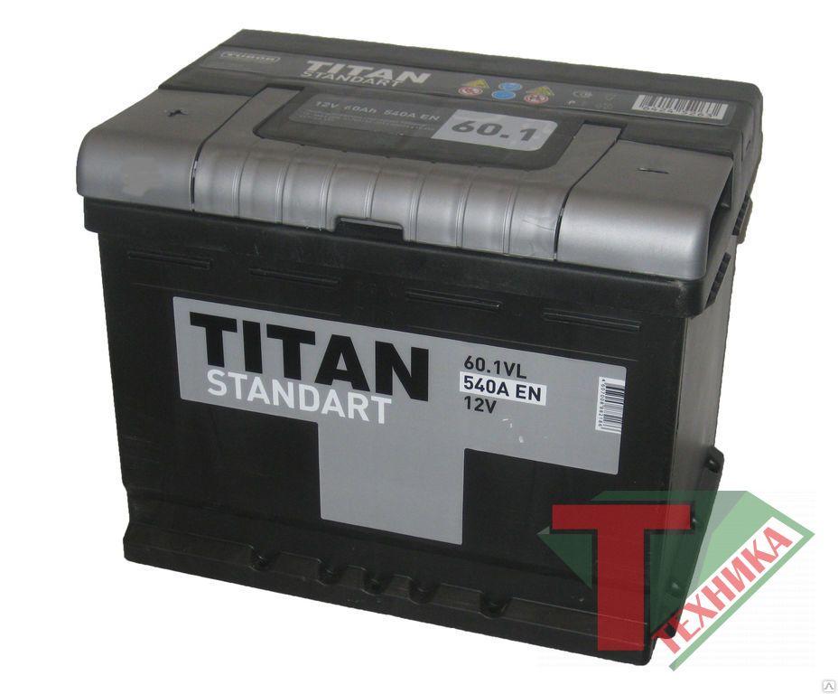 АКБ Титан 60,1 п/п Standart