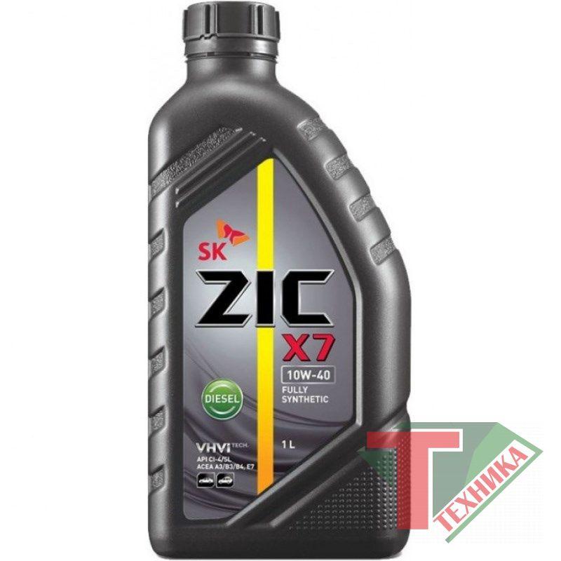 ZIC X7 LS 10W40 1L
