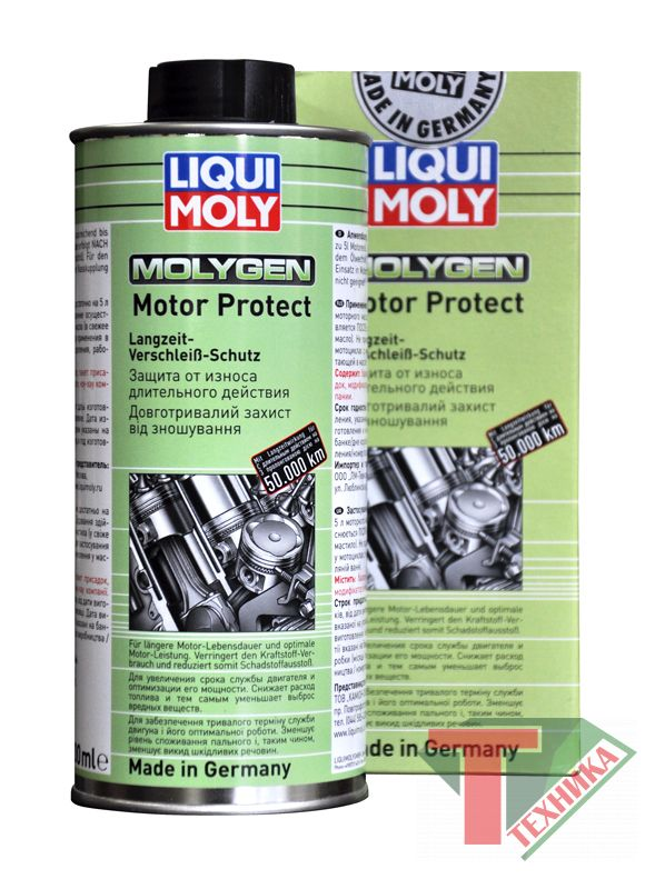 Liqui Moly Антифрикц. присадка д/долговр.защиты двиг.Molygen Motor Protect (0.5л)