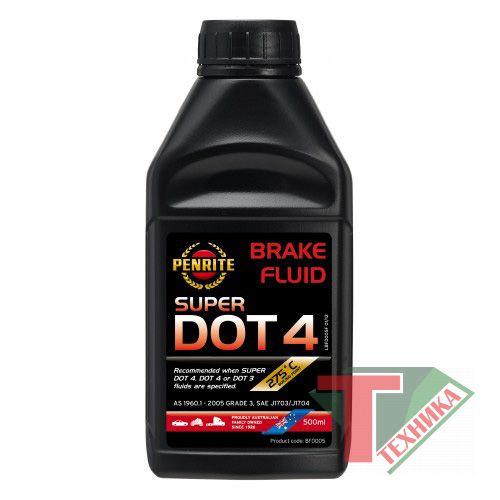 Тормозная жидкость BREKE FLUID DOT 0.5 л