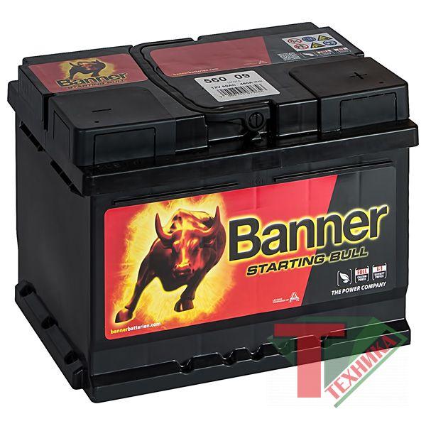 АКБ Banner Starting Bull 560 09