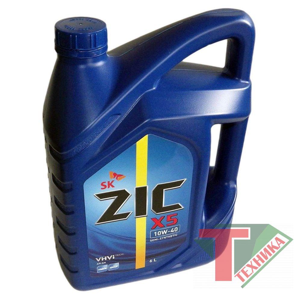 ZIC A PLUS п/с 10W40 Diesel 6Л