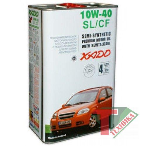 Хадо Atomik OIL 10W40 SL/CF 1L