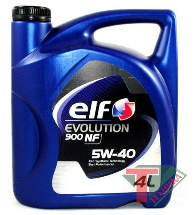 ELF Evolution NF900 5W40 4L
