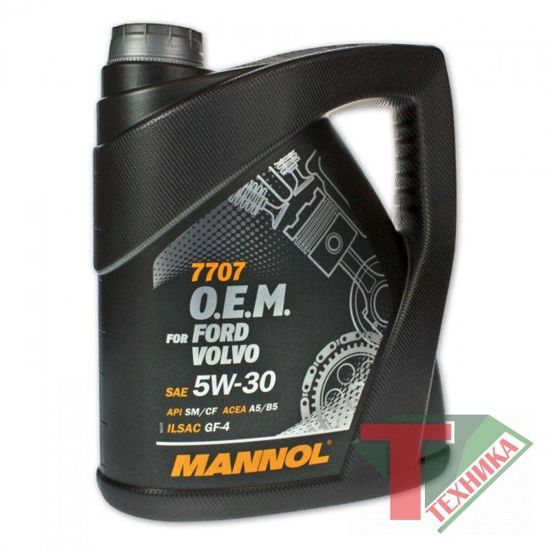Mannol Ford Volvo 5W30 5л