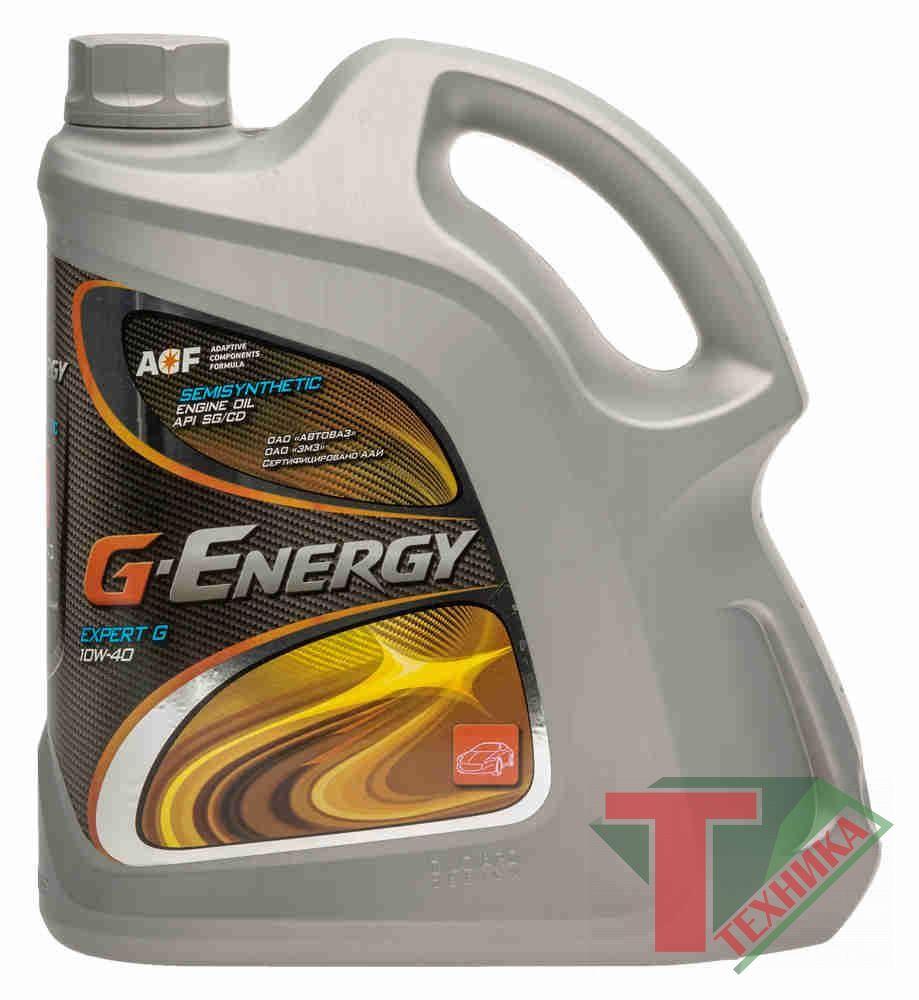 G-Energy Expert G 10W40 4л + G-Energy Antifreeze-40 1кг