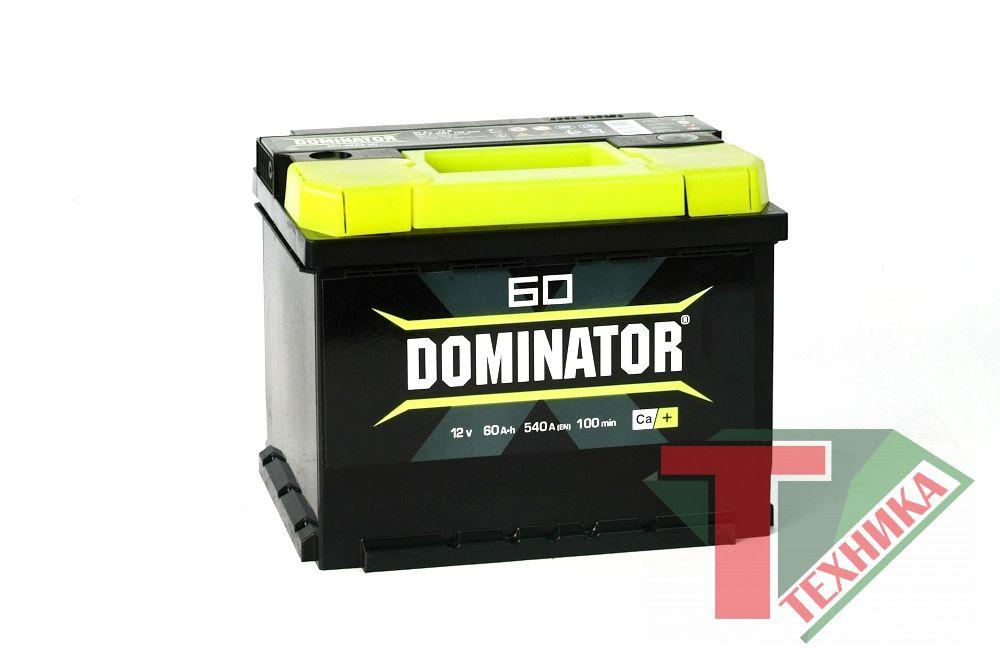 АКБ Dominator 60R залит. обр. EN560