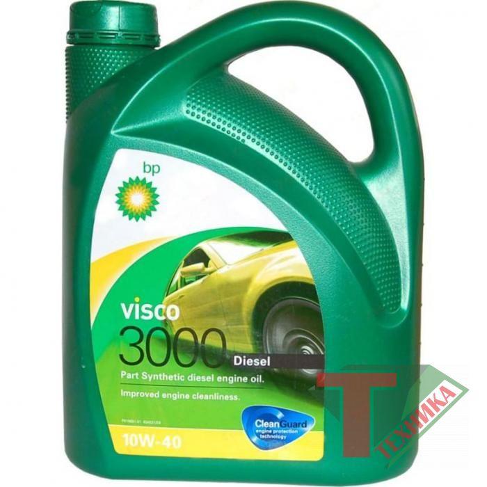 BP Visko 3000 Diesel 10w40 4л