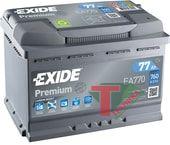 АКБ Exide Premium 77 EA770 о.п.