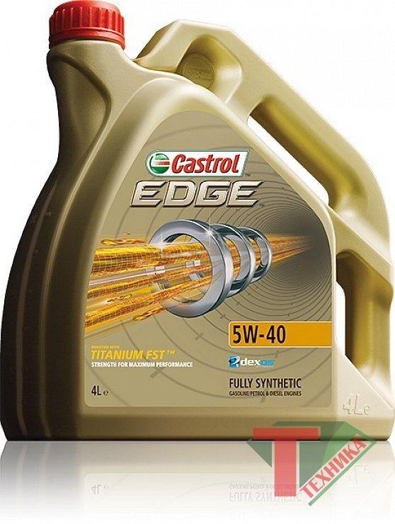 Castrol EDGE Professional Titanium5W40 4L