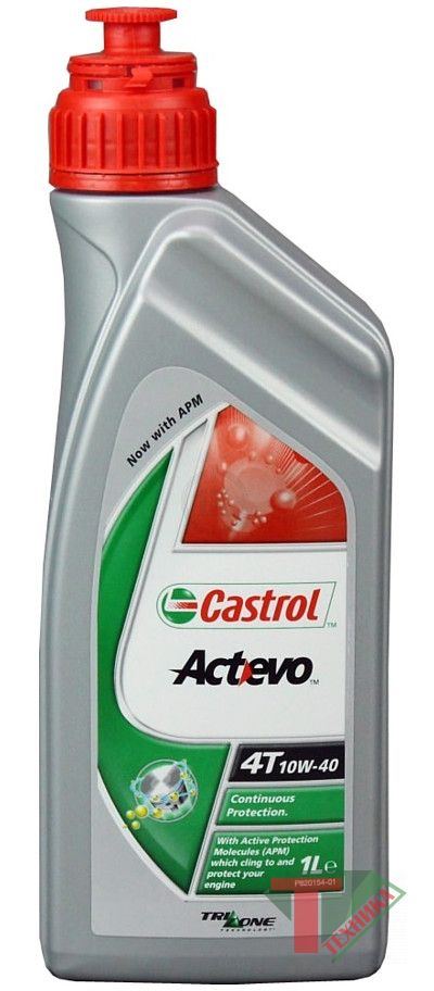 Castrol Act-evo 4Т 10w40 1L
