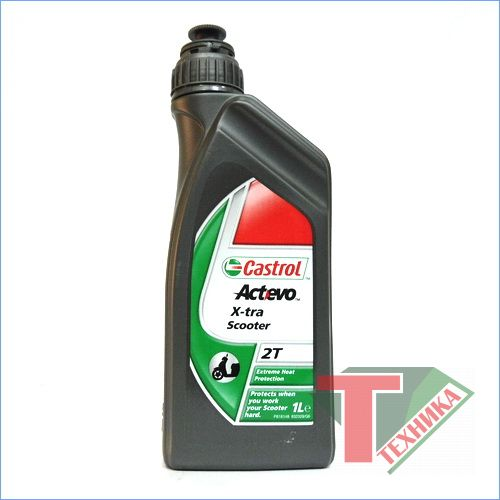 Castrol Act-evo Scooter 2T 1L