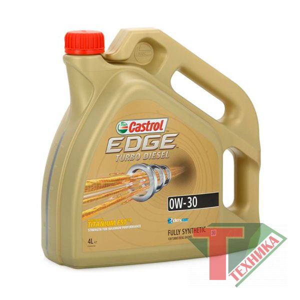 Castrol EDGE 0W30 4L Turbo Diesel