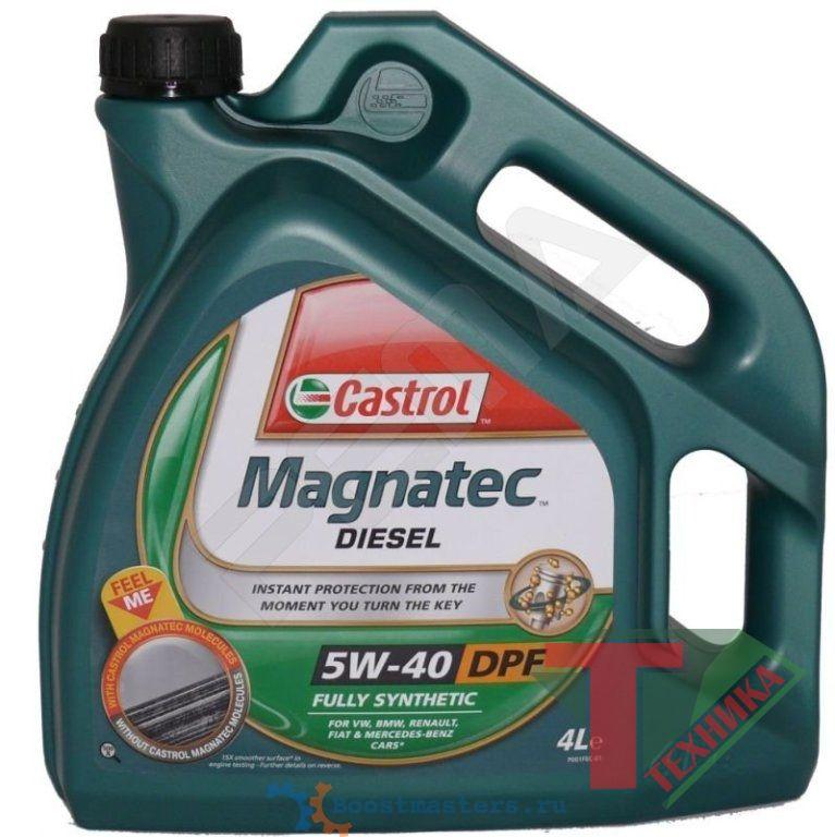 Castrol GTD Magnatec (Diesel) 5w40 DPF 4L