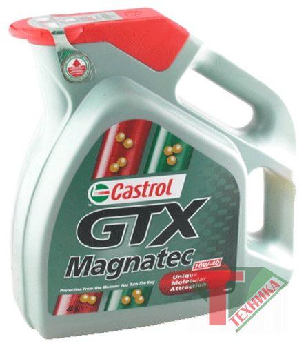 Castrol GTX 5 Magnatec 10w40 п/синтет. 4L