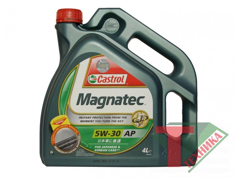 Castrol GTX Magnatec 5w30 4L(АР)