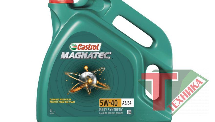 Castrol GTX Magnatec 5w40 4L  A3/B4