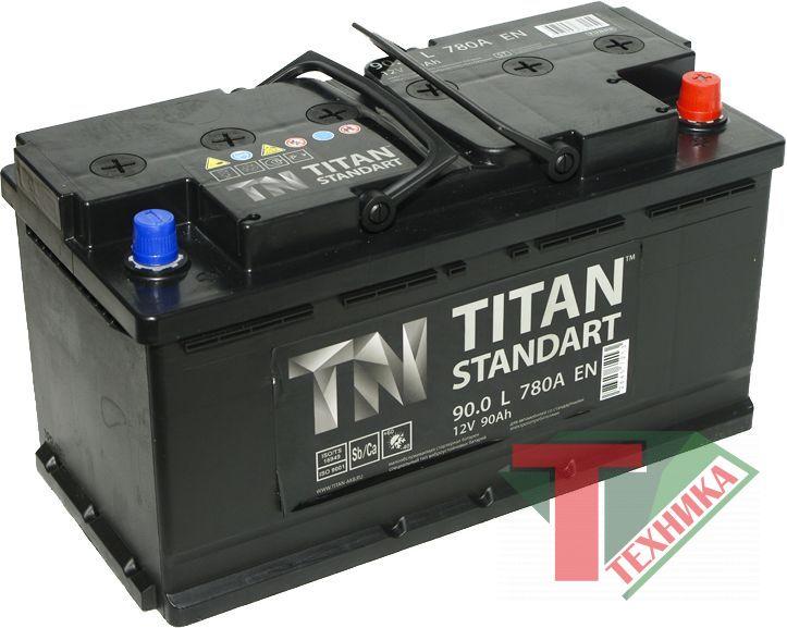 АКБ Титан 90,0 о/п Standart