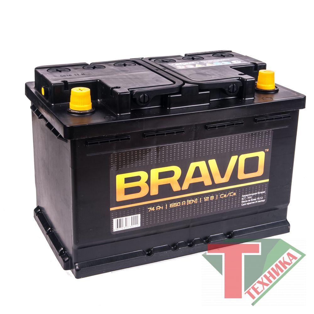 АКБ Bravo 74 EN650