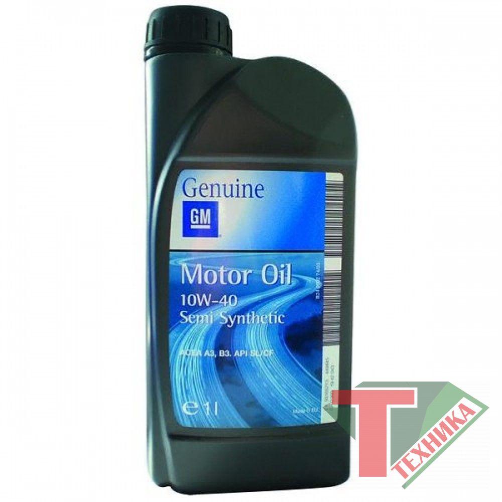 GM Motor Oil 10W40 1L