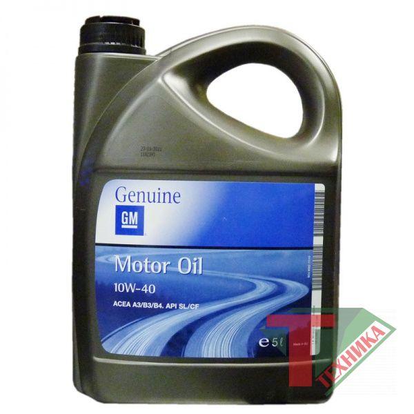 GM Motor Oil 10W40 5L