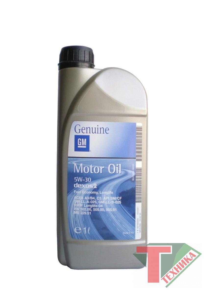 GM Motor Oil Dexos2 5W30 1L